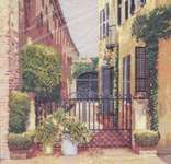 Click for more details of Queen Street Alley (cross-stitch pattern) by Barbara & Cheryl