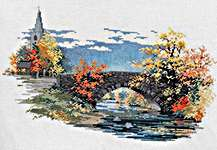 Click for more details of Quiet Reflections (cross-stitch kit) by Rose Swalwell