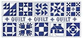 Heart and Home Quilt Blocks - cross stitch pattern by Jeremiah ... : cross stitch quilt block patterns - Adamdwight.com