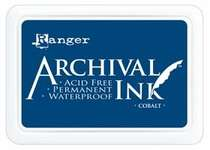 Click for more details of Ranger Archival Cobalt Ink Pad (inks) by Ranger