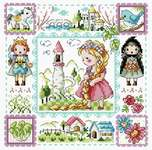 Click for more details of Rapunzel (cross stitch) by Soda Stitch