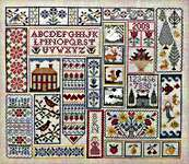 Click for more details of Read Betwen the Lines (cross stitch) by Blue Ribbon Designs