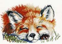 Click for more details of Red Fox (cross stitch) by Oven Company