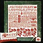 Click for more details of Red Rhapsody (cross stitch) by Rosewood Manor