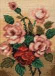 Click for more details of Red Roses (tapestry kit) by Rico Design