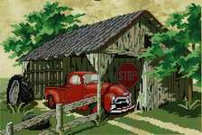 Click for more details of Red's Resting Place (cross stitch) by Stoney Creek
