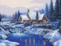 Click for more details of Reflections in the Snow (tapestry) by Grafitec