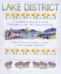 Click for more details of Regional Sampler : Lake District (cross stitch) by Rose Swalwell