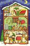 Click for more details of Reindeer Barn (cross stitch) by DMC Creative