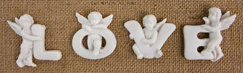 Click for more details of Resin Angels - Always (embellishments) by Prima
