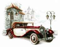 Click for more details of Retro Cadillac (cross stitch) by Magic Needle
