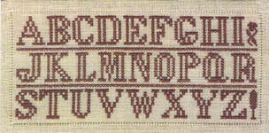 Click for more details of Reversible Cross Stitch Sampler (cross-stitch pattern) by Needlemade Designs