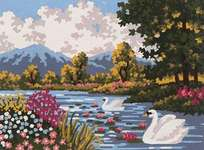 Click for more details of River Landscape (tapestry) by Grafitec