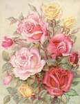 Click for more details of Romantic Roses (tapestry) by Grafitec