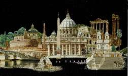 Click for more details of Rome (cross-stitch kit) by Thea Gouverneur