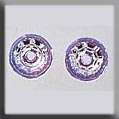 Click for more details of Rondele Inverted Disk Crystals (beads and treasures) by Mill Hill