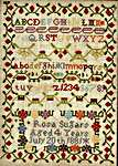 Click for more details of Rosa Sugars 1881 (cross stitch) by Hands Across the Sea Samplers