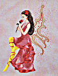 Click for more details of Rose Fairy (cross-stitch pattern) by Cross Stitching Art
