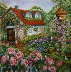 Click for more details of Rose Garden (cross stitch) by Merejka