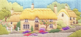 Click for more details of Rose Lane (long-stitch kit) by Rose Swalwell