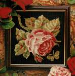 Click for more details of Rose Mini Kit (tapestry) by Glorafilia