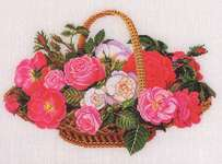 Roses in a Basket