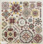 Click for more details of Round and Round (cross stitch) by Rosewood Manor