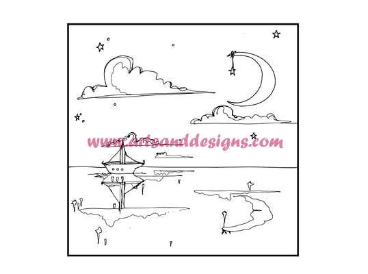 Click for more details of Sail Away Digital Stamp (digital downloads) by Julie Lynes