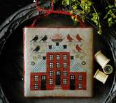 Click for more details of Sampler House V (cross stitch) by Plum Street Samplers
