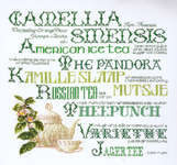 Click for more details of Sampler of Tea (cross stitch) by Thea Gouverneur