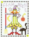 Click for more details of Sampler Teenies - Hallowe'en (cross-stitch pattern) by Alma Lynne