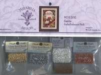 Click for more details of Santa Embellishment Pack (beads and treasures) by Mirabilia Designs