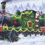 Click for more details of Santa Express (cross stitch) by Dimensions