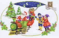 Click for more details of Santa is Coming (cross stitch) by DMC Creative