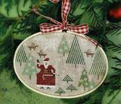 Click for more details of Santa's Tree Farm (cross stitch) by With Thy Needle and Thread