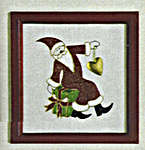 Click for more details of Santa with Presents Picture (embroidery) by Rico Design
