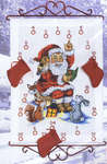 Santa with Woodland Animals Advent