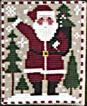 Click for more details of Santas and Snowmen (cross stitch) by The Prairie Schooler