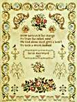 Click for more details of Sarah Hayward 1859 (cross stitch) by Fox and Rabbit Designs