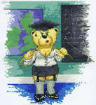 Click for more details of Schoolmistress (cross stitch) by Peter Underhill