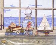 Click for more details of Sea Breeze Vista (cross stitch) by Janlynn
