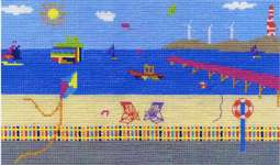 Click for more details of Sea View (cross stitch) by DMC Creative