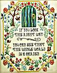Click for more details of Secret Garden (cross stitch) by Tiny Modernist
