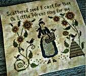 Click for more details of Seeds Of Kindness (cross stitch) by Scattered Seed Samplers