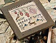 Click for more details of Seeds Of Love (cross stitch) by Heartstring Samplery