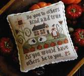 Click for more details of Serial Bowl Collection Sampler Lesson 4 (cross stitch) by Plum Street Samplers