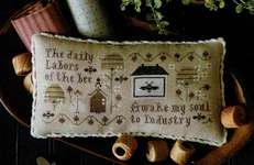 Click for more details of Serial Bowl Collection Sampler Lesson Three (cross stitch) by Plum Street Samplers