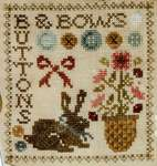 Click for more details of Sew Together Number 5 Buttons & Bows (cross stitch) by Jeannette Douglas