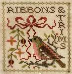 Click for more details of Sew Together Number 6 Ribbons & Trims (cross stitch) by Jeannette Douglas