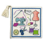 Click for more details of Sewing Needlecase (cross stitch) by Textile Heritage